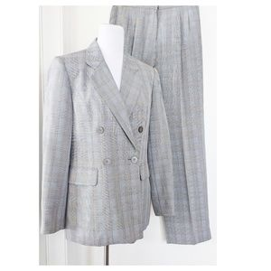 WORTHINGTON Glen Plaid Pant Suit 8